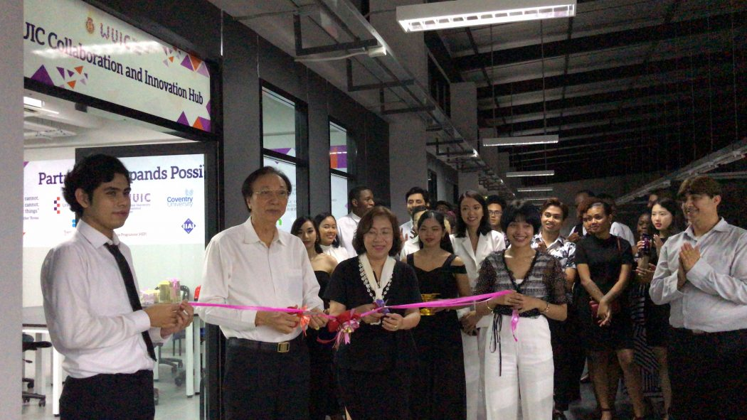 WUIC Collaboration and innovation Hub had officially opened