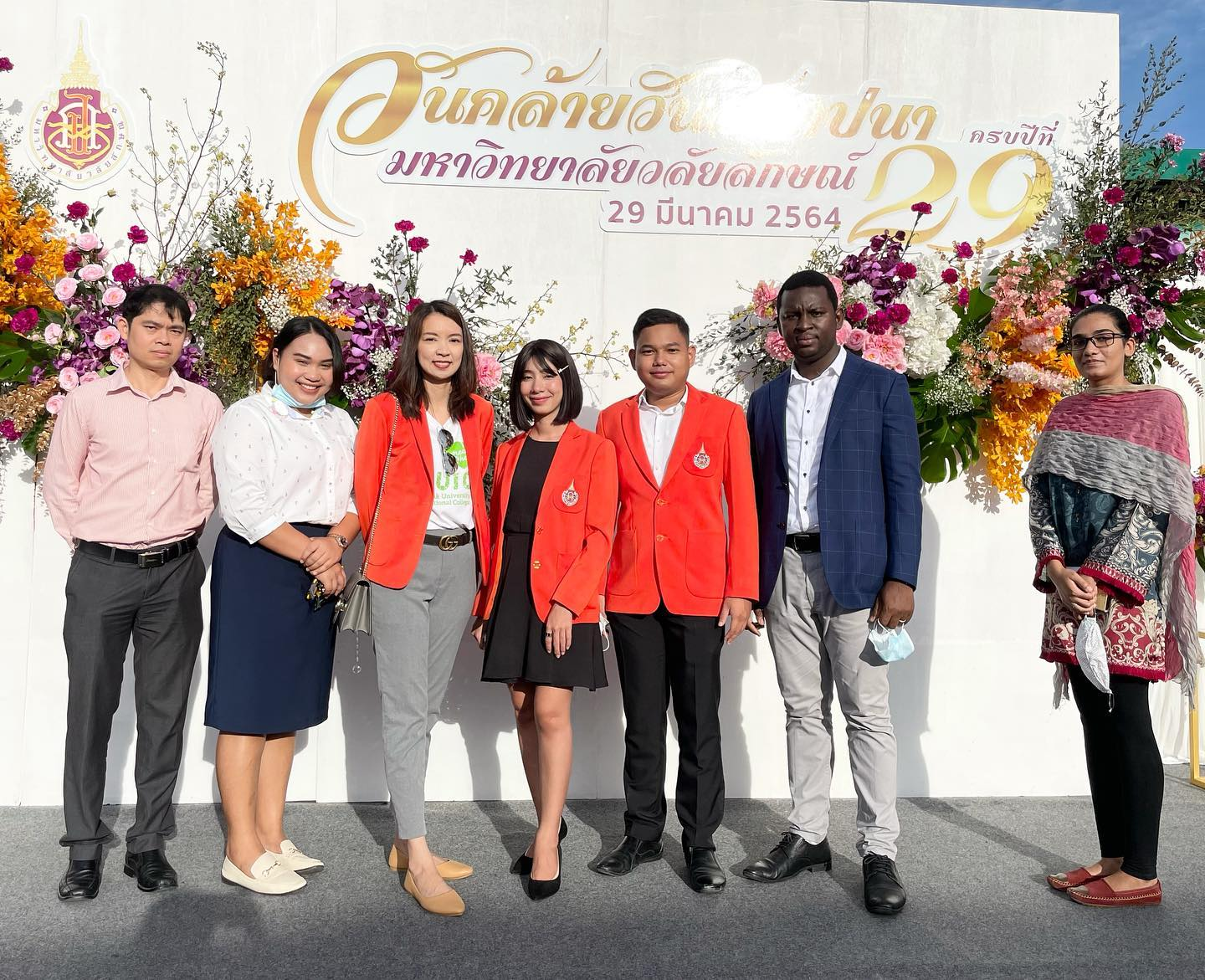 Celebrating ceremony of the 29th Anniversary