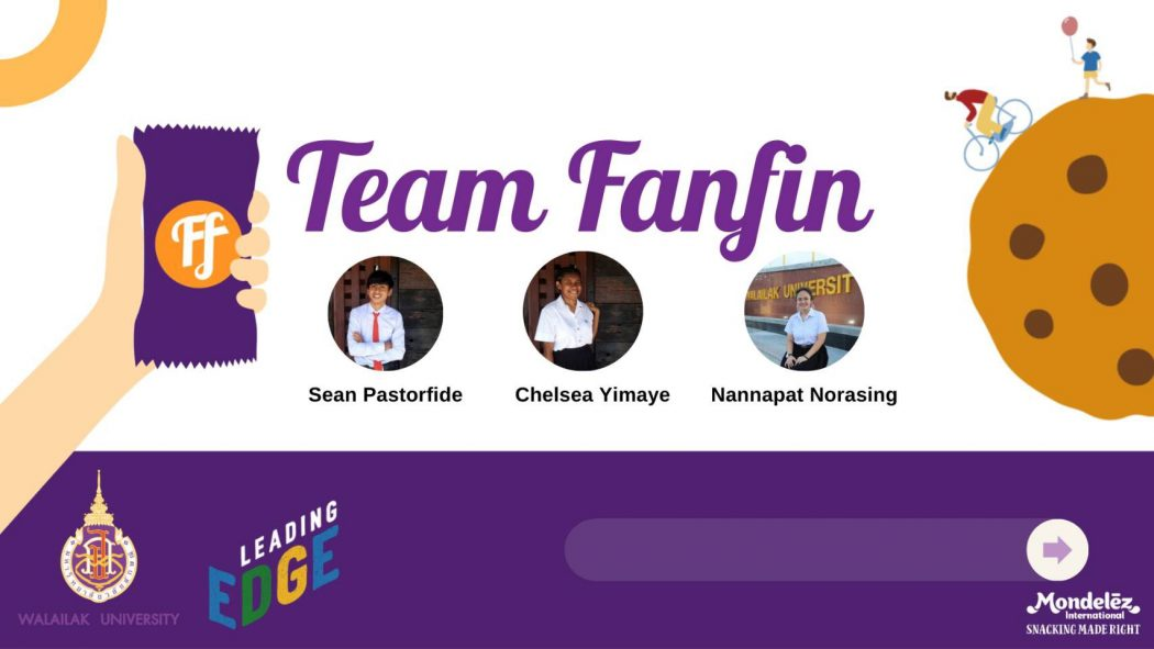 """WUIC Team made it to top 5 from the """"Mondelez Leading edge Business Challenge"""" Competition"""