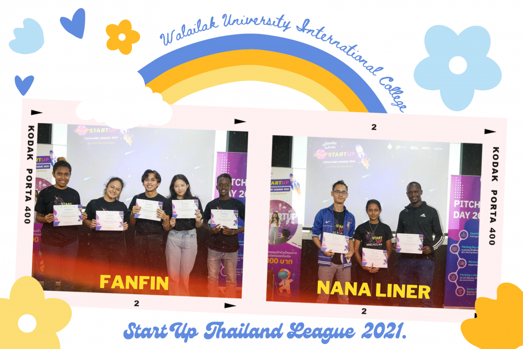 2 WUIC Teams at Startup Thailand League 2021