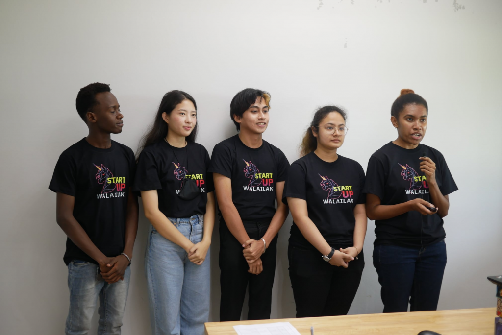 Congratulations to 2 teams from Walailak University International College students. They won 25,000 THB to create the phototype from Startup Thailand League 2021 and they will go to present their phototype in Demo Day this September in Bangkok