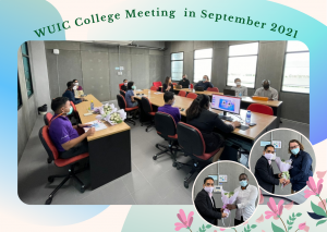 WUIC Meeting in September 2021